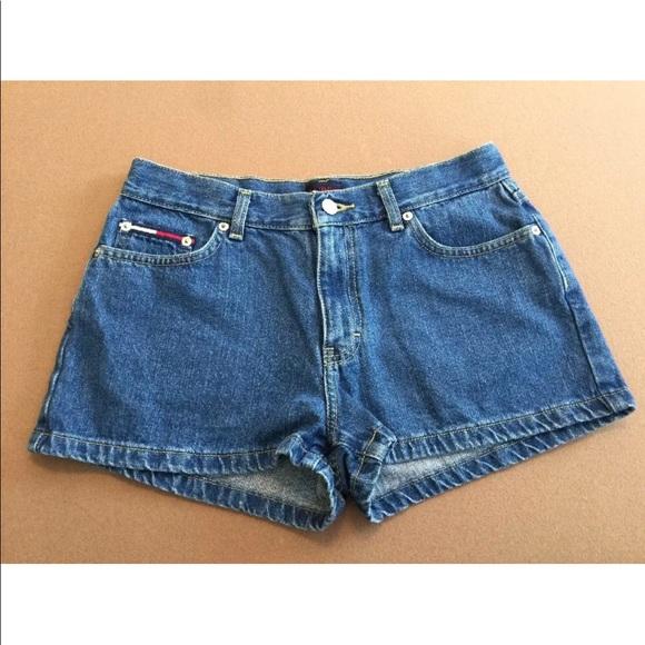 f8ff42626b Tommy Hilfiger Shorts | Vtg Tommy Jeans Hilfiger 9 Denim Blue Jean ...